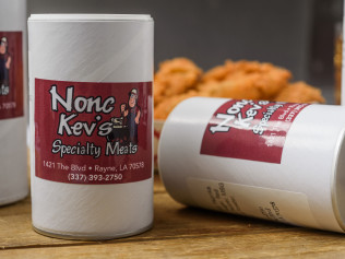 Nonc Kev's Seasoning makes everything taste great!